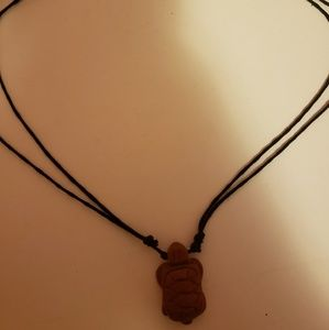 Jewelry - Clay turtle necklace